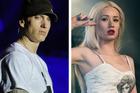 Rappers Eminem and Iggy Azalea. Photo / Getty Images
