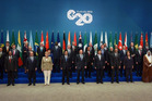 World leaders at the G20 Leaders' Summit in Brisbane. Photo / AFP