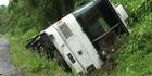 School bus crash injures 14