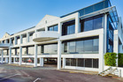 This building complex for sale at 17 Hargreaves St, Freemans Bay, is leased to Fuji Xerox.