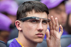 Google no longer plans to release it smart glasses to the public this year, but the company insists it remains committed to the project. Photo / AFP