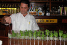 A barman prepares mojitos at Havana's La Bodeguita Del Medio. Photo / Megan Singleton