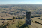 The Sir John Mckenzie memorial on Puketapu Hill. Photo / Otago Daily Times