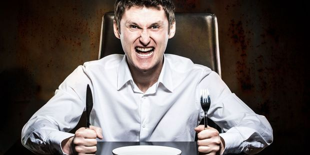 What are the things that make your blood boil when dining out? Photo / 123RF