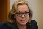 National MP Judith Collins in her office at Parliament, Wellington, following the government inquiry report clearing her of any inappropriate behaviour as justice minister.  24 November 2014. New Zealand Herald Photograph by Mark Mitchell