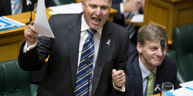 Loading Prime Minister John Key defending his office during question time in Parliament today. Photo / Mark Mitchell