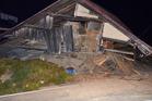 Strong quake hits central Japan