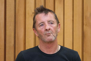 Phil Rudd in the High Court in Tauranga during a previous appearance. Photo / Alan Gibson