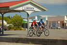 A new cycle trail takes visitors through Lumsden. Photo / Venture Southland