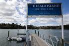 Herald Island. Photo / Greg Bowker