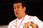 Celebrity chef Ross Burden. Photo / Paul Taylor