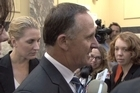 John Key responded to the media today after a report on Dirty Politics allegations released this morning found former SIS director Warren Tucker failed to take adequate steps to maintain the spy agency's political neutrality.