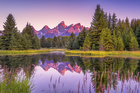 Wyoming's Grand Teton National Park is an outdoor playground of mountains, rivers, lakes, and meadows. Photo / Thinkstock
