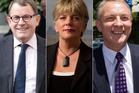 John Banks, Penny Hulse and Phil Goff won't rule out running for the Super City mayoralty. Photo / file