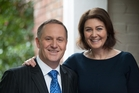 John Key sent wife Bronagh a tweet thanking her for putting up with him for 30 years.