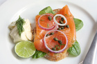 Gravlax is a delicious delicacy. Photo/Thinkstock
