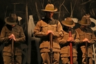 Aboriginal performers in Black Diggers, a play which opened at the Sydney Festival last week. Photo / AP