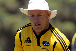 Coach Coetzee says with Schalk Burger back, the team now has excellent loose forwards. Photo / Getty