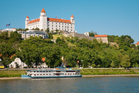 Visitors on tourist boats on the River Danube, in Bratislava, are treated to historic sights and sites. Photo / Thinkstock