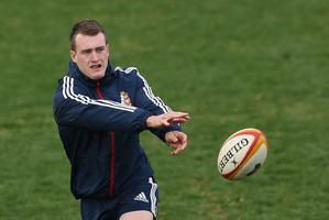 Stuart Hogg is back to face Ireland. Photo / Getty Images