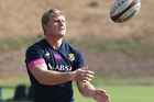 Franco van der Merwe is notably missing from the Lions A team line-up. Photo / Getty