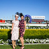 Katie Page and Francesca Cumani enjoy the races. Photo / Gaye Gerard