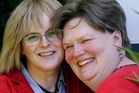 Kelly Ellis (left) had to end her marriage to Kelly Ewing in order to change her gender, but now they are remarrying. Photo / Kenny Rodger
