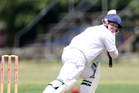 Kamo batsman Dylan Clarke will be hoping to be in the runs this weekend as his side take on Kaipara in what is essentially a semifinal. Photo / Michael Cunningham