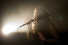 Lorde performs at her first post-Grammy show on home soil at a special Laneway Festival gig at Silo Park Auckland. Photo / Richard Robinson.
