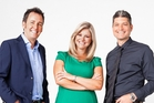 Mike Hosking, Toni Street and Jesse Mulligan still lack on-screen chemistry.