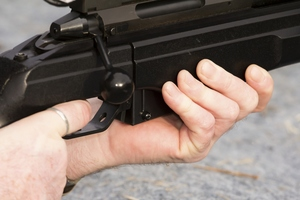 A rifle range which used to operate in the building's basement. Photo / Thinkstock