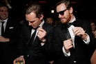 Benedict Cumberbatch (left), with 12 Years A Slave co-star Michael Fassbender, has acted in two films about slavery. Photo / AP