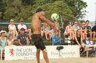 Mike Watson (above) will again team up with Tauranga's Sam O'Dea as favourites at the New Zealand Beach Volleyball Open at Mount Maunganui's Main Beach this weekend.