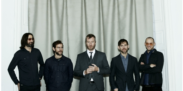 Long-time fans may miss seeing The National perform amid a relaxed crowd in a small bar. Photo / Dierfre O'Callaghan