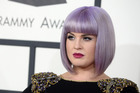 Kelly Osbourne arrives on the red carpet. Photo / AP