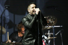 Trent Reznor performs at the 56th annual Grammy Awards at the Staples Centre. Photo/AP