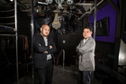 Strip club owners Michael Chow (left) and John Chow. Photo / Michael Craig
