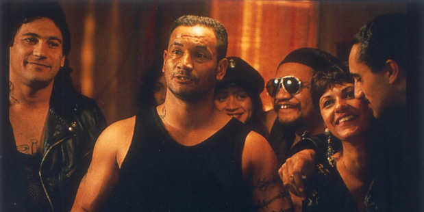 Temuera Morrison as Jake 'the Muss' Heke in the film Once Were Warriors.