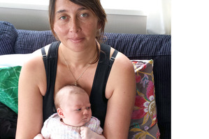 Arapera Salter wanted baby Aniwa to have healthy vitamin D levels.