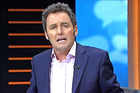 Mike Hosking conducted a live interview with MP Hone Harawira on his attendance at Parliament. Photo / TVNZ