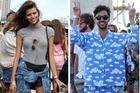 Laneway festival fashion. Photo / Katherine Lowe