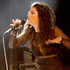 Lorde performs at her first post-Grammy show on home soil at a special Laneway Festival gig at Silo Park Auckland. Photo / Richard Robinson