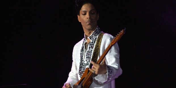 Prince performing at Coachella in 2008. Photo / Creative Commons