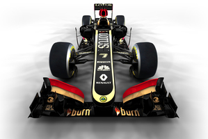 CGI Render of the new Lotus E21 Renault  Photo / Lotus F1 Team