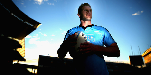 Kieran Read continues to search for ways to enhance his role at No 8 for the Crusaders and All Blacks. Photo / Getty Images