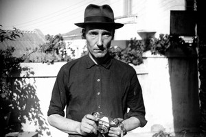 Burroughs is pictured in the Hotel Villa Mouniria Garden, Tangier. Photo / AP, courtesy of the William S. Burroughs Estate, supplied by the Photographers' Gallery, London.