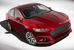 The Ford Fusion hybrid research vehicle already uses sensors to enhance safety.