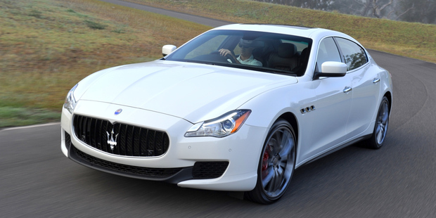 The Maserati Quattroporte has been completely redesigned and gains a refined interior with leather seats and an eight speed transmission.