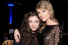 Lorde and Taylor Swift attend the pre-Grammy Gala. Photo / Getty Images