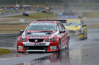 Greg Murphy mastered the wet and dry conditions at Highlands Motorsport Park during the opening round of the V8ST series. Photo/Geoff Ridder